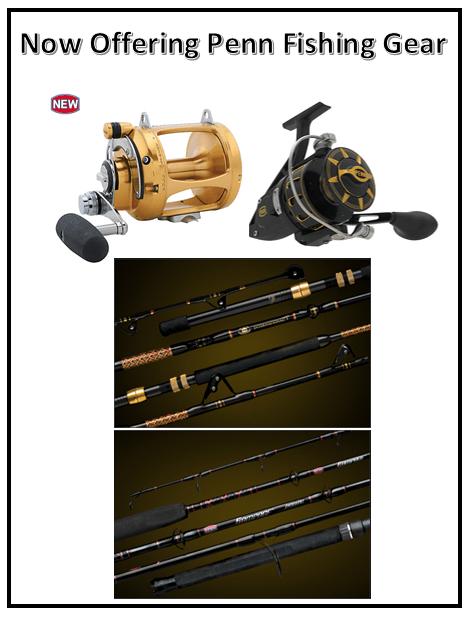 Penn fishing gear poster