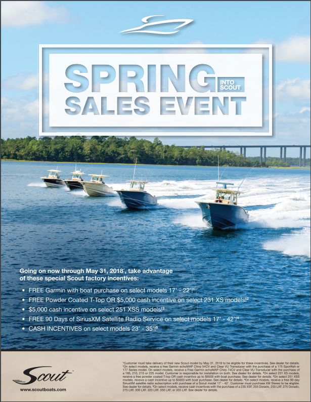Spring Into Scout Sales Event 2018