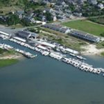 Outermost Harbor Marine Aerial