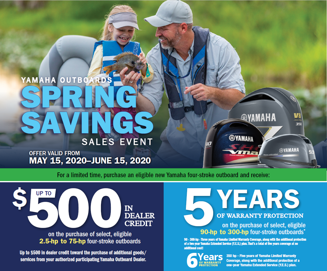 2020 Yamaha Spring Promotion
