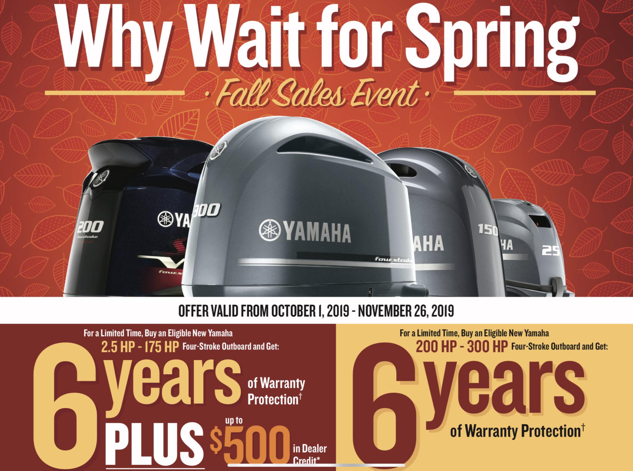 Yamaha Spring Promotion